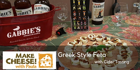 Cheesemaking at Ravenskill Orchard with Gabbies Cider tasting - Greek Style Feta tickets