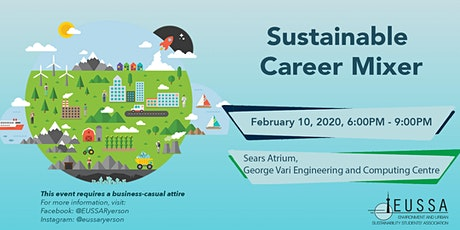 EUSSA Sustainable Career Mixer tickets