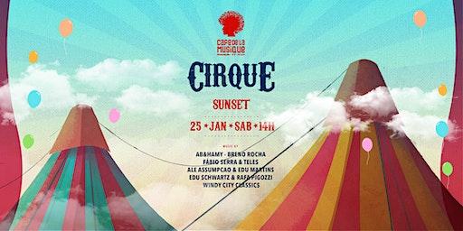 Sunset  Cirque 25/01 - Café de La Musique Floripa