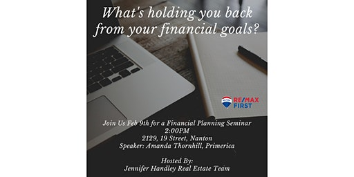 What's Holding You Back from Your Financial Goals?