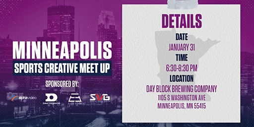 Minneapolis Sports Creative Meetup