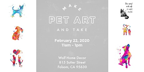 Framed Pet Art Decor tickets