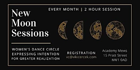 New Moon Dance Session | February tickets