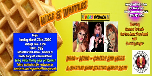 Wigs and Waffles Drag Brunch