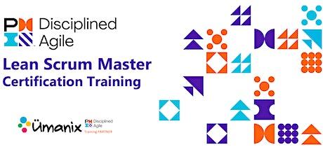 PMI - Disciplined Agile Lean Scrum Master (DALSM) - en Français / Montréal billets