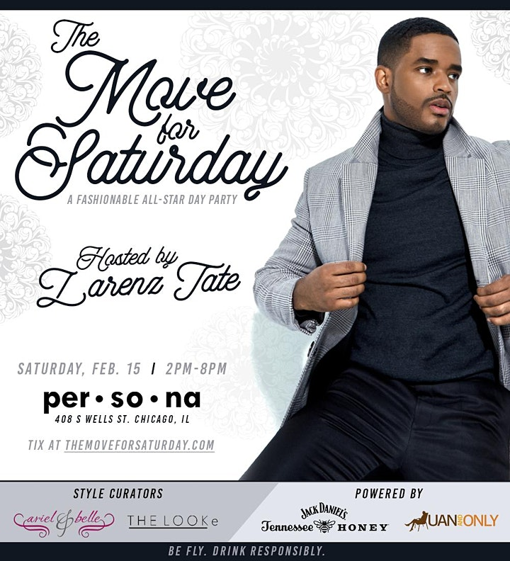 THE MOVE FOR SATURDAY: Fashionable All-Star Day Party Hosted by Larenz Tate image