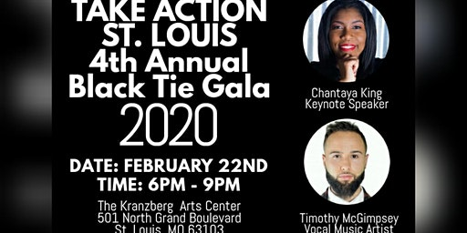 Take Action St. Louis | 4th Annual Black Tie Gala | February 2020