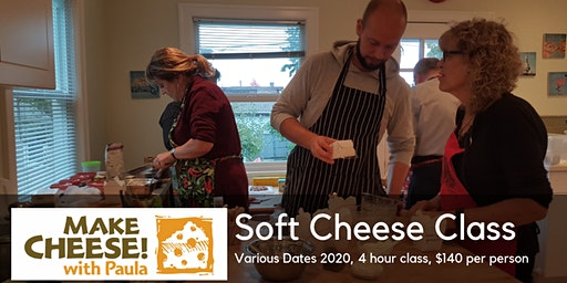 Soft Cheeses / Cheese Plate Class