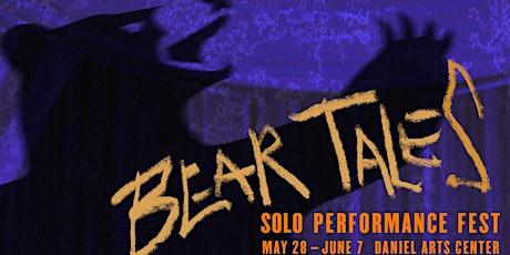 Bear Tales Solo Performance Fest tickets