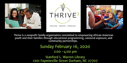 Thrive Durham Family Interest Meeting