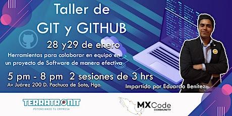 GIT y GITHUB - Taller entradas