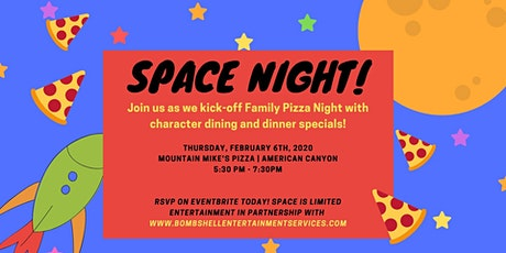 Family Pizza Night! Space Theme tickets