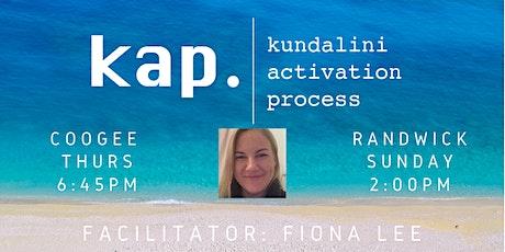 Kundalini Activation Process Randwick - KAP Sunday 9th Feb tickets