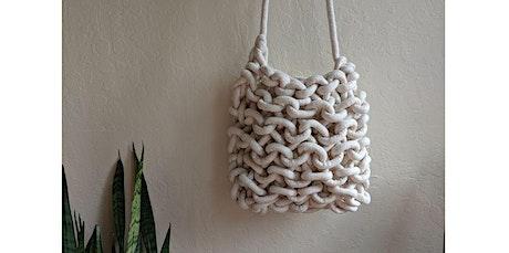 Knit Rope Bag Workshop (03-28-2020 starts at 2:00 PM) tickets