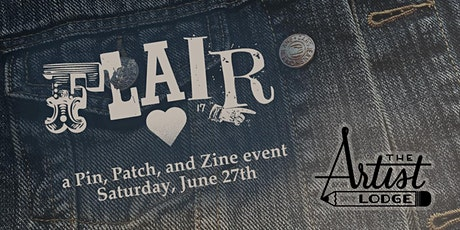 Flair: A Pin, Patch and Zine Event tickets