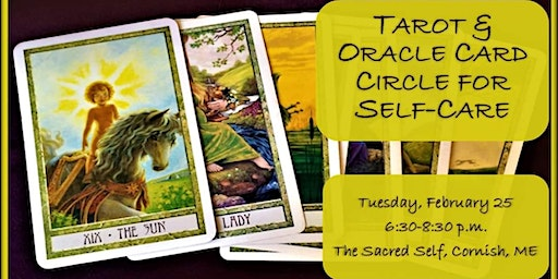 Tarot & Oracle Card Circle For Self-Care