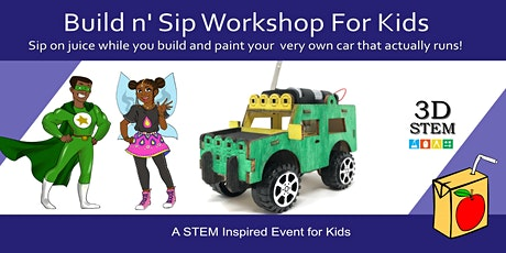 Build n' Sip Workshop For Kids tickets