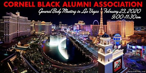 CBAA General Body Meeting 2020
