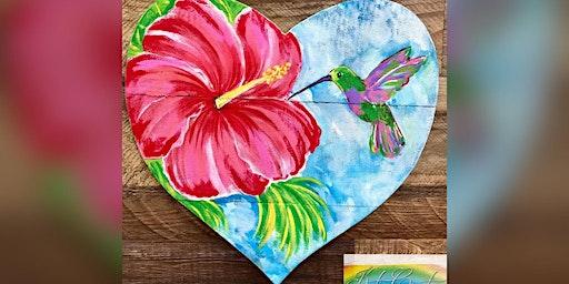 Hummingbird: Glen Burnie, Broken Oar with Artist Katie Detrich!