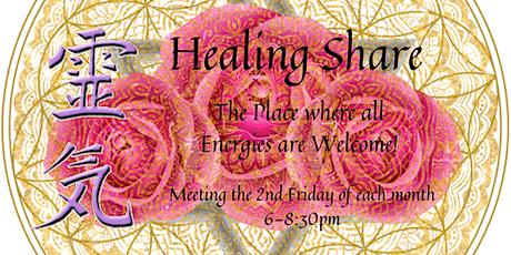 Healing Share tickets