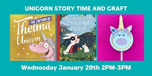 Unicorn Story time and Craft Activity