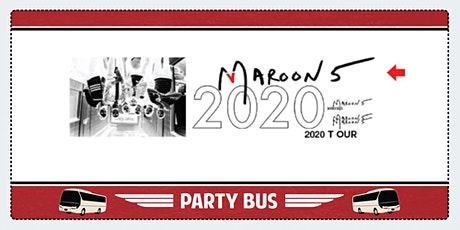 Maroon 5 Party Bus to Shoreline Amphitheater tickets