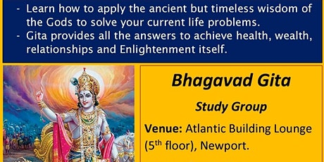 Bhagavad Gita Class (Focus on modern day applications) tickets