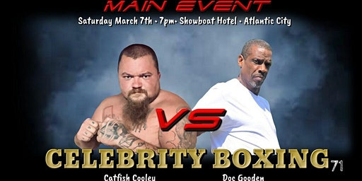 BANG PRODUCTIONS PRESENTS CELEBRITY BOXING - GOODEN VS COOLEY