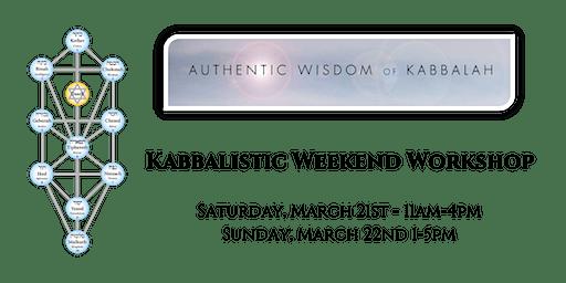 Kabbalah - Weekend Workshop - Day 1