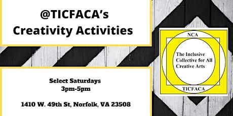 @TICFACA's Creativity Activities: Facebook Live Video tickets