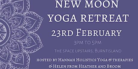 New Moon Yoga Retreat tickets