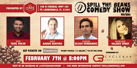 Spill the Beans Stand Up Comedy Show- Valarie Storm tickets