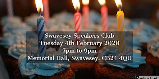 Swavesey Speakers Club: 1st birthday!