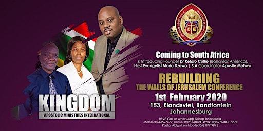 'REBUILDING THE WALLS OF JERUSALEM' CONFERENCE BY KAMI