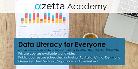 Data Literacy For Everyone - Frankfurt Tickets