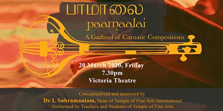Paamaalai, A Garland of Carnatic Compositions tickets