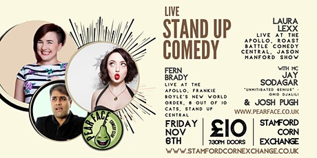 Live Stand up Comedy with Headliners Laura Lexx and Fern Brady tickets