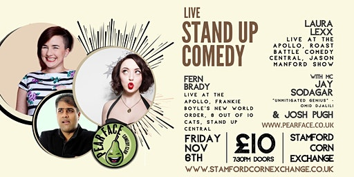 Live Stand up Comedy with Headliners Laura Lexx and Fern Brady