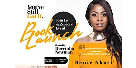 Benie's Book Launch tickets
