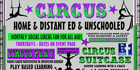 HOME ED CIRCUS - MONTHLY @ UNCAGED SPIRIT tickets