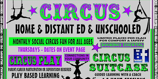 HOME ED CIRCUS - MONTHLY @ UNCAGED SPIRIT