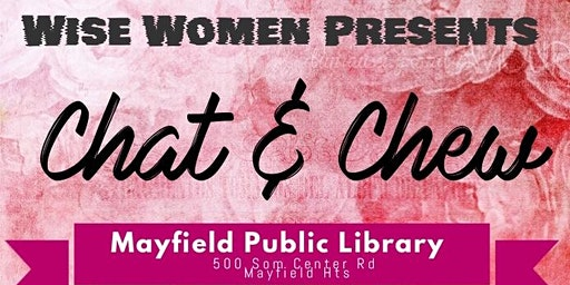 Chat & Chew (single moms event)