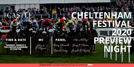 Cheltenham Festival 2020 Preview Night tickets