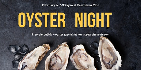 Oyster Night tickets