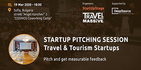 Startup Pitching Session, Travel & Tourism Startups tickets