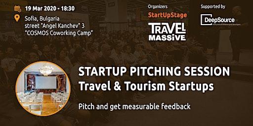 Startup Pitching Session, Travel & Tourism Startups