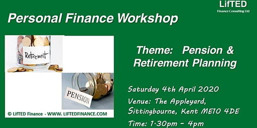 Pension and Retirement Planning:  Personal Finance Workshop