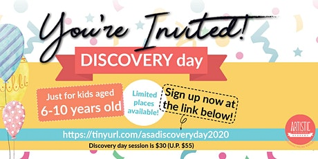 Discovery Day 2020 tickets