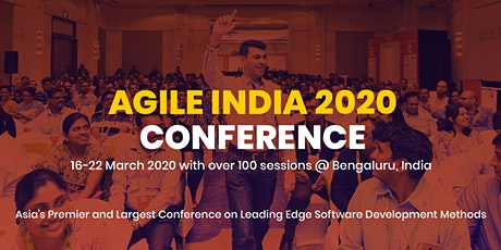 Agile India 2020 tickets