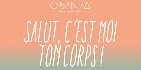 """Atelier  """" Salut c'est moi ton corps"""" by OMNIA billets"""